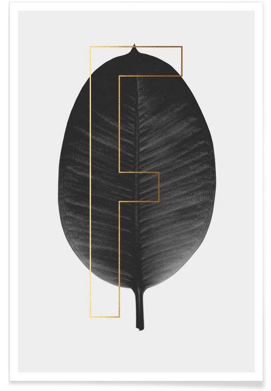Plants F als Premium Poster von typealive | JUNIQE