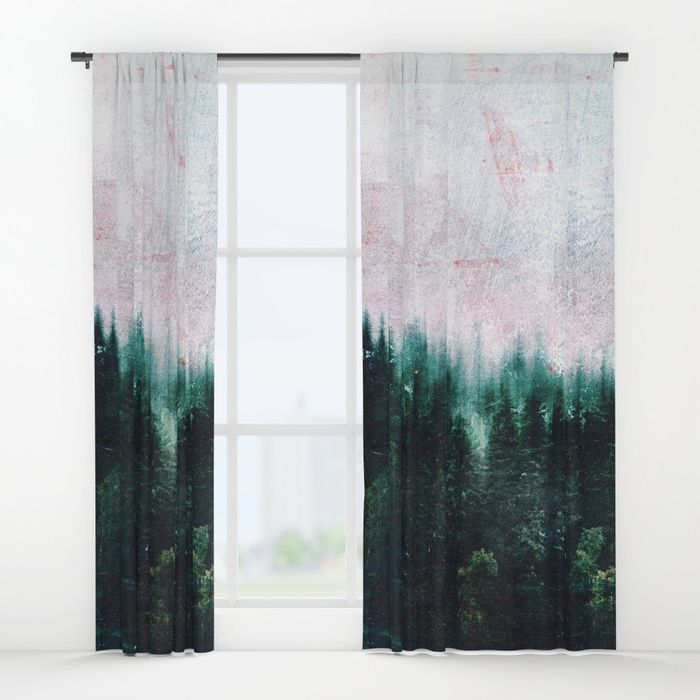Deep dark forests Window Curtains by HappyMelvin | Society6