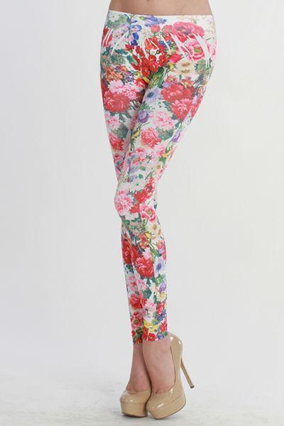 printed leggins. |Repinned by www.borabound.com