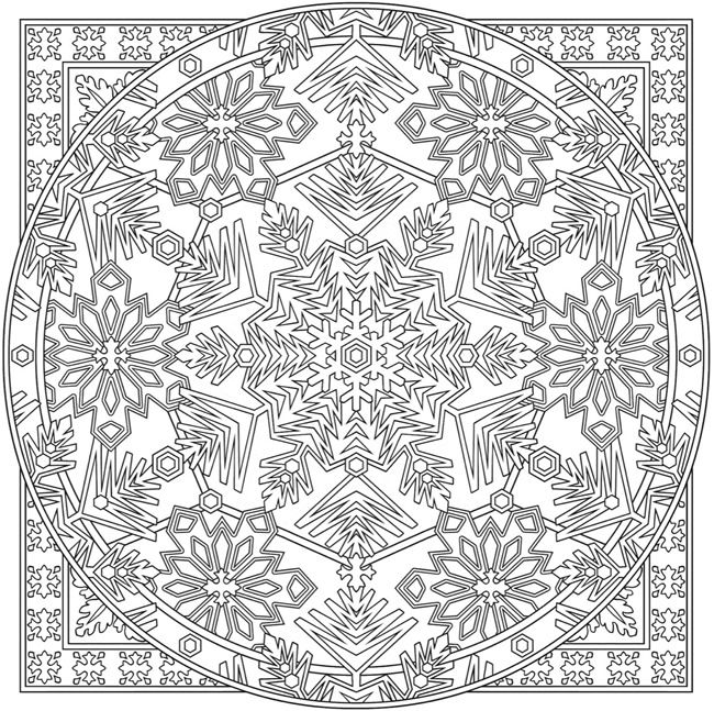 627 best Mandalas to Color images