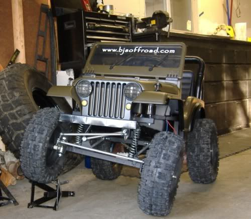 "PowerWheels Jeep 12"" Lift pics doing this to my childs powerwheels"