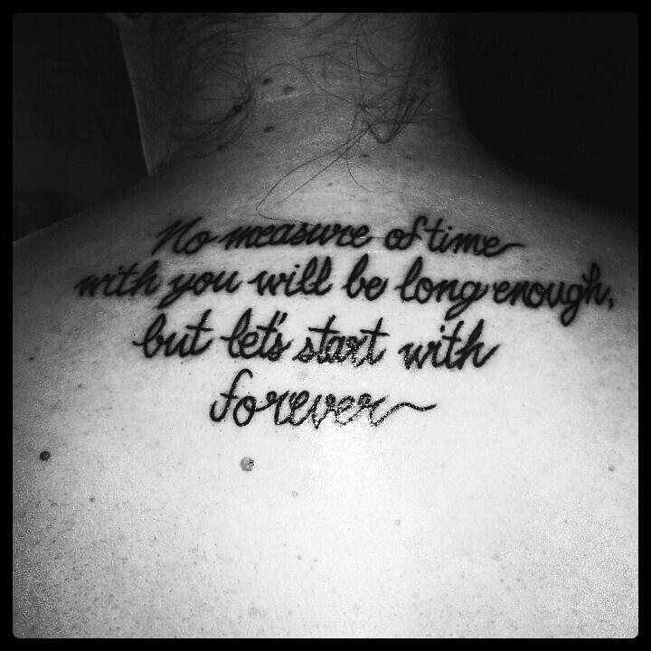 My Twilight Quote Tattoo. ♡♡♡♡♡♡♡♡♡♡♡