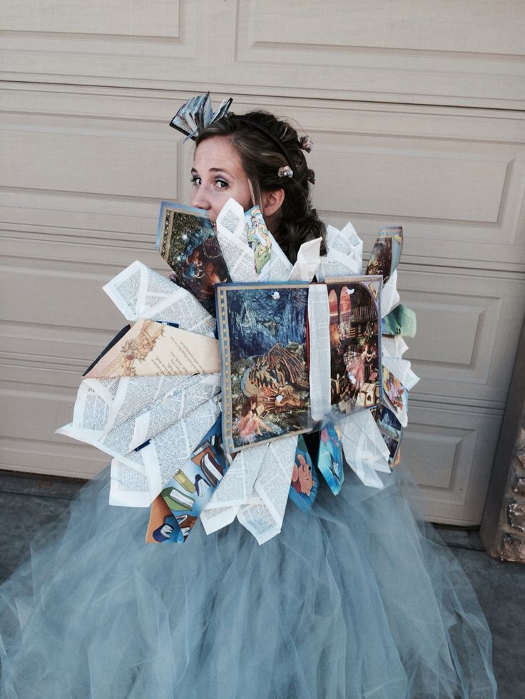 Adorable book fairy costume !