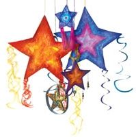 Philippines- Festival of Lights: parol ie star-shaped lanterns= victory of light over darkness