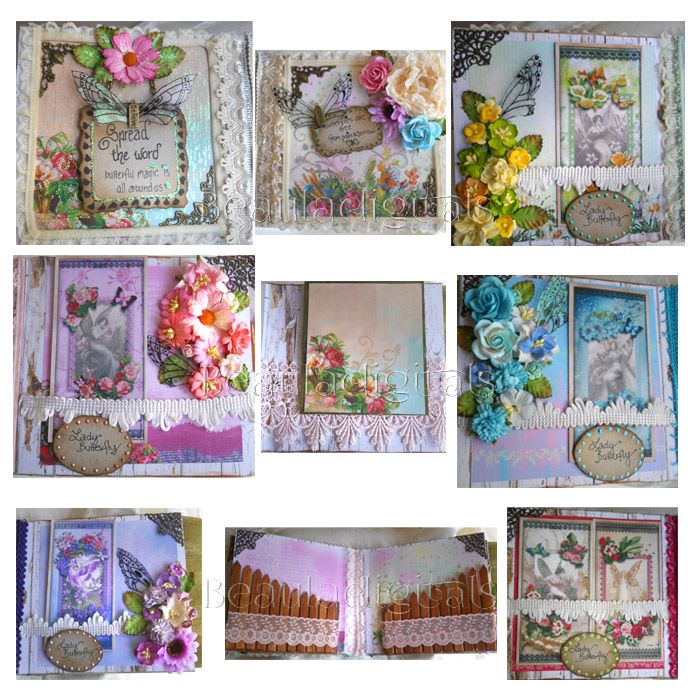 butterfly garden pages