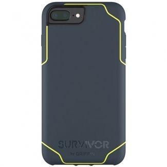 Griffin Survivor -Journey Strong / Military Standard 810-G standards [6.6 Ft.] Drop Protection On Concrete Cover Case Blue/Denim Fluorescent Fits Apple Iphone 7 Plus [5.5 inch ] Cellphone