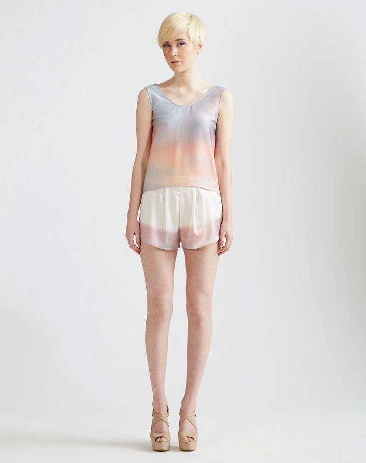 Sunrise Series Silk Cami & Shorts  www.jenkinsandjane.com.au
