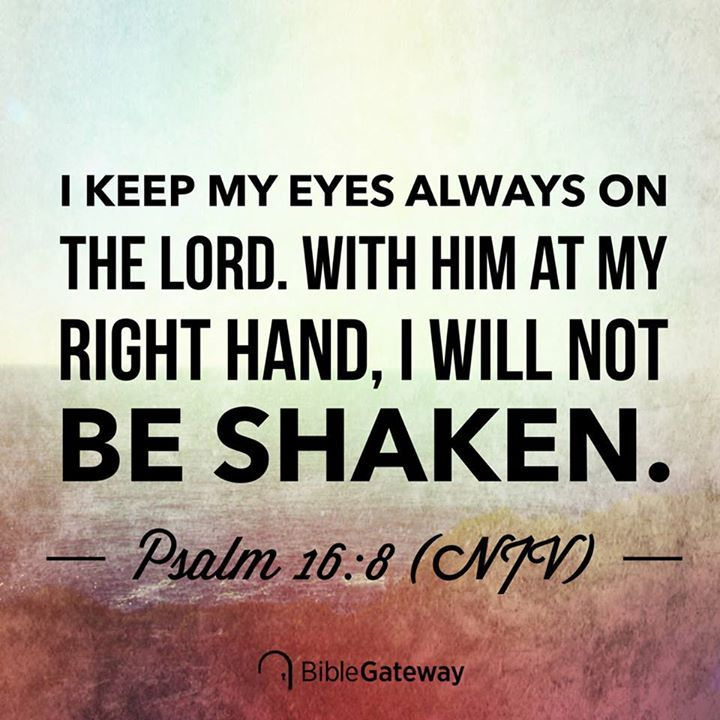 Psalms 16 8 Inspirational Image: 17 Best Images About The Bible On Pinterest