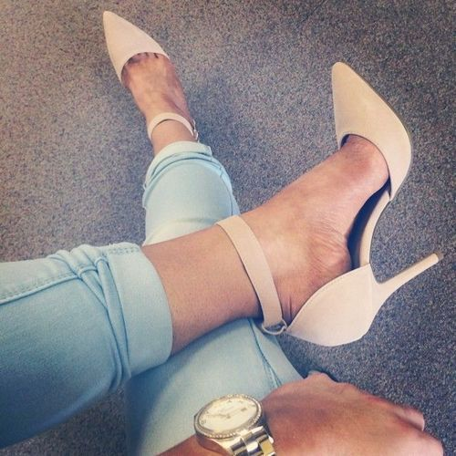 Ankle straps are so cute...why are they sooo uncomfortable?