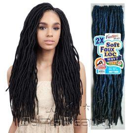 Freetress Synthetic Hair Crochet Braids 2x Soft Wavy Faux