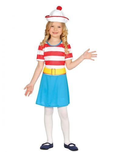 Matroos ontdekkingsreiziger kostuum voor meisjes