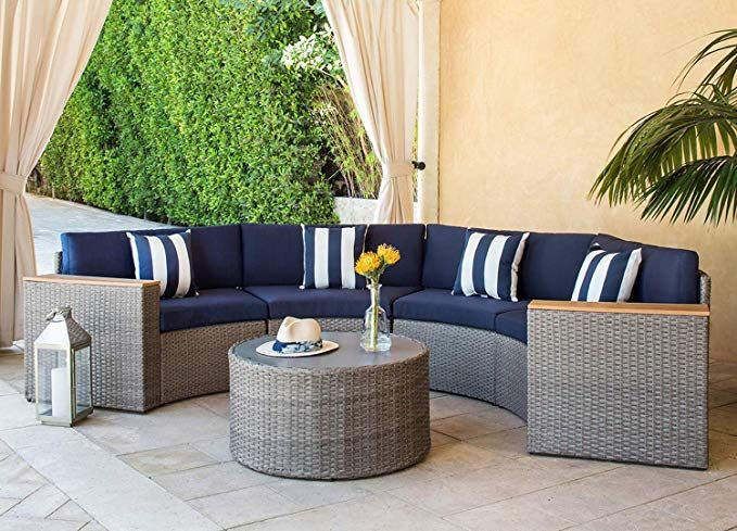 5 piece sectional furniture patio