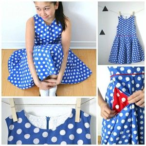 How to Create a Circle Dress for a Tween –  A Tutorial