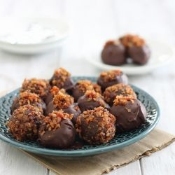 Nom Nom Chocolate Truffles Recipe — Dishmaps