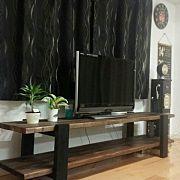 Lounge,テレビ台,DIY,足場板,ヴィンテージ,ROUTE66に関連する他の写真