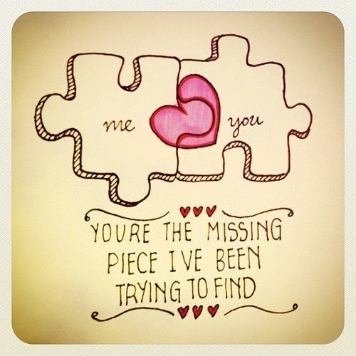 This would make a good friendship tattoo without the romantic stuff
