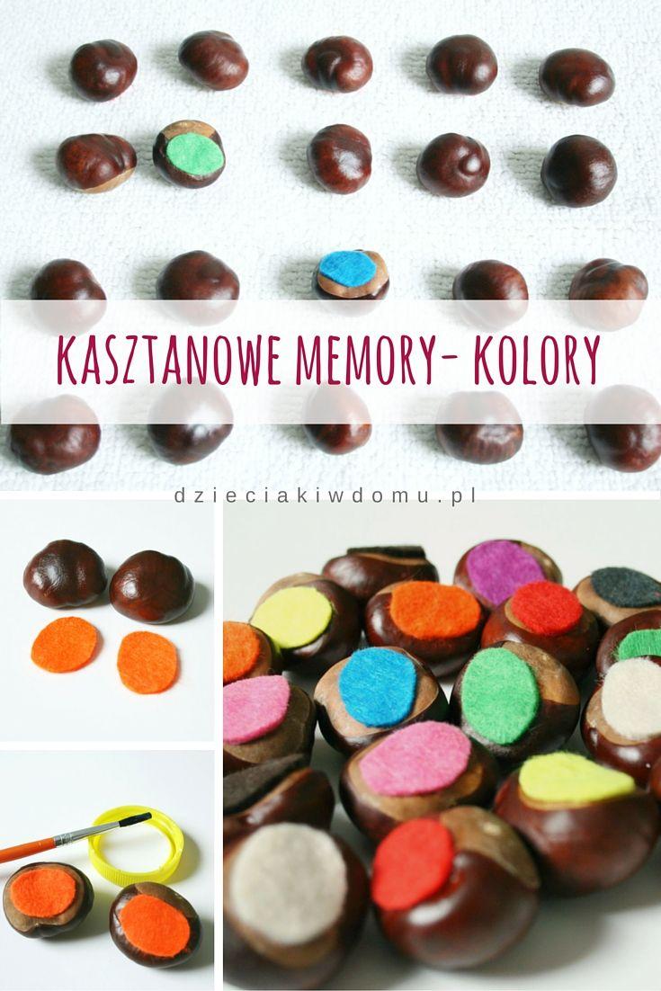 Kasztanowe memory - kolory / conker memory game - colors