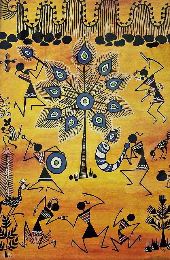 Tribals II Painting