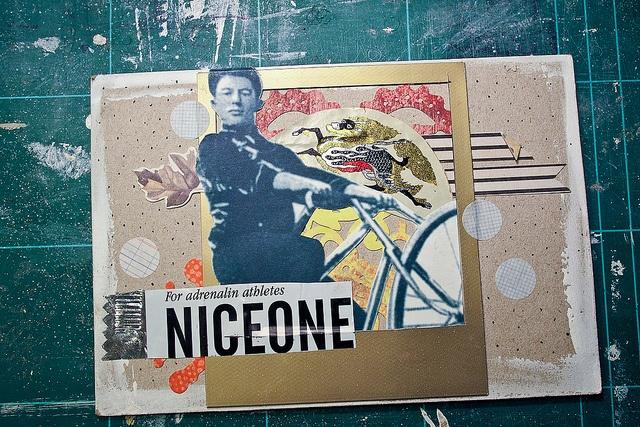 Short Berlin vacations mail-art by annasergeevna, via Flickr