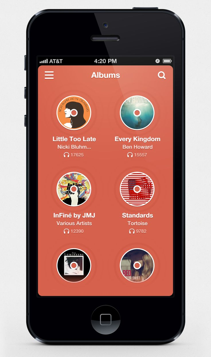 MusixApp by Scardi Shek - mobile app interface UI UX