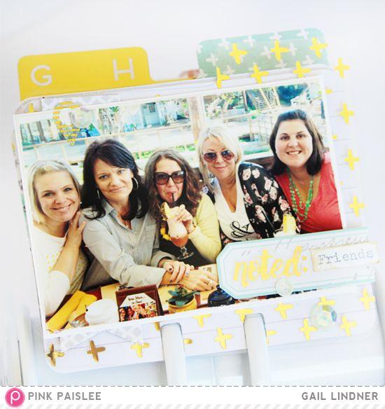 MemoryDex: A-Z of Everyday Moments @gail_lindner @pinkpaislee #pinkpaislee #ppmemorandum #scrapbooking  #DIY