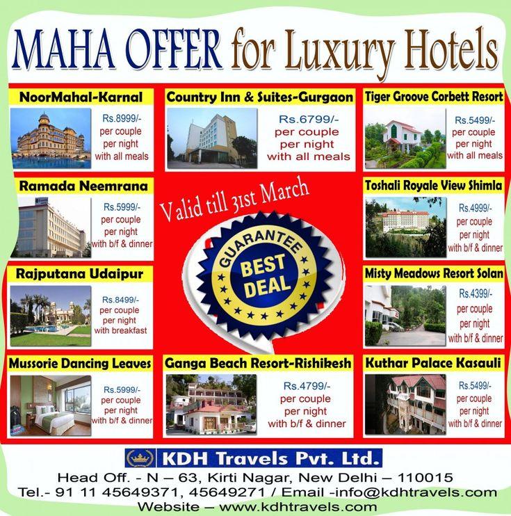 Best Deals on Luxury Hotel