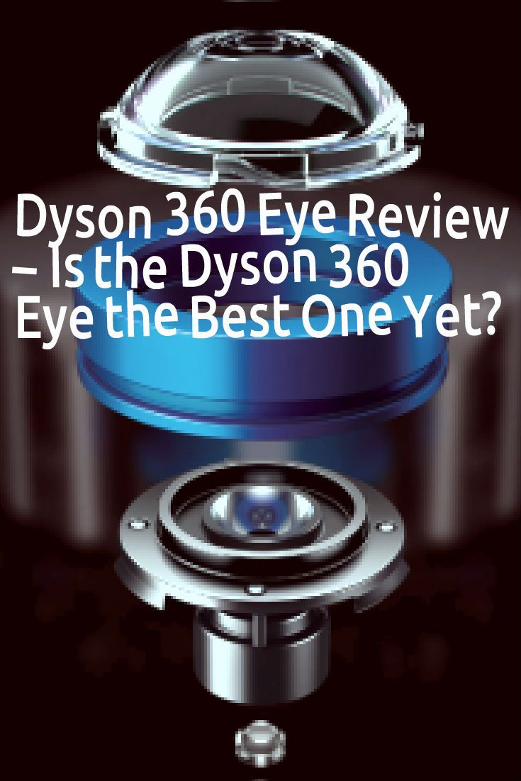 That was the first thing that sprung to mind when I heard the Dyson 360 Eye was…