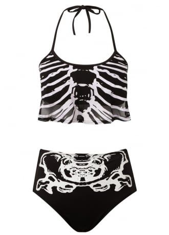 Killstar Bad Bones Bikini, £39.99