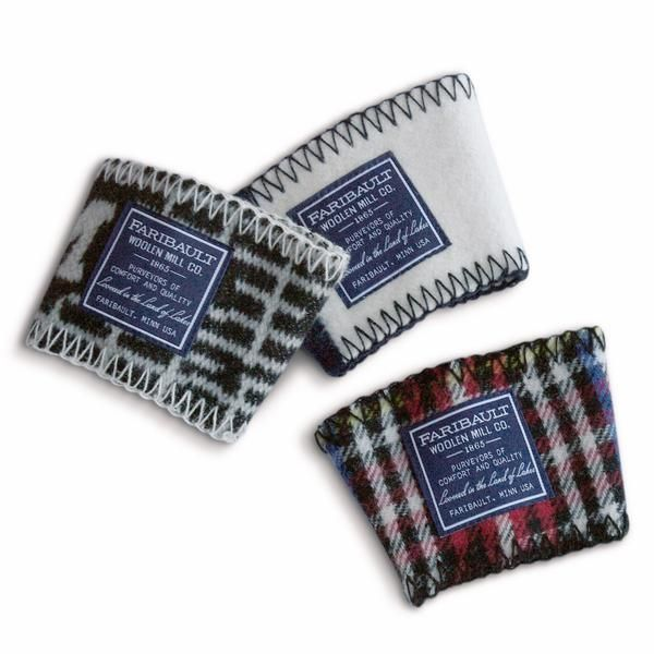wool coffee sleeve - assorted styles and colors