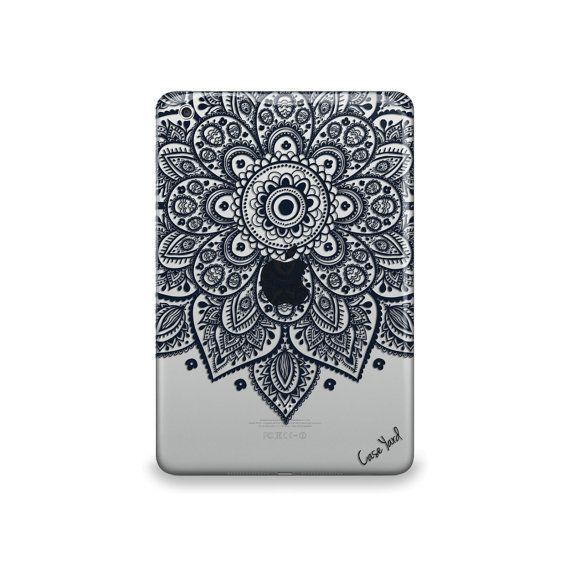 Lara+Mandala+Clear+caseiPad+Air+case+iPad+Mini+case+by+CaseYard