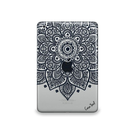 Lara+Mandala+Clear+caseiPad+Air+case+iPad+Mini+case+by+CaseYard