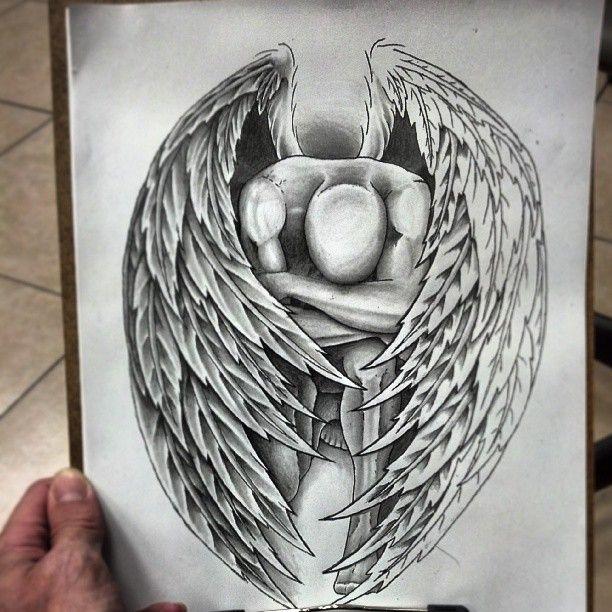 fallen angel tattoos | Tattoo Designs Fallen Angel Fantastic fallen angel tattoo