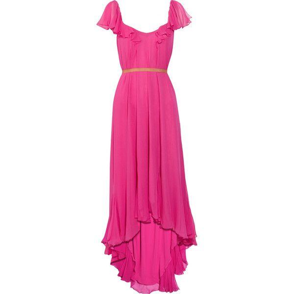 Elizabeth and James Marissa silk-chiffon dress ($265) ❤ liked on Polyvore