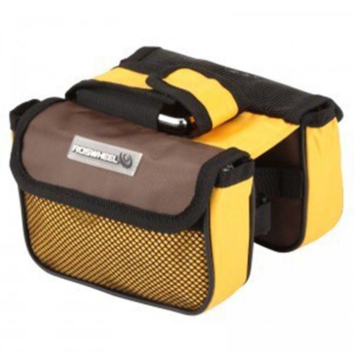 Fahrrad-Sattel-Tasche Satteltasche Fahrradtasche Gepäckträgertasche Doppel-Tasche
