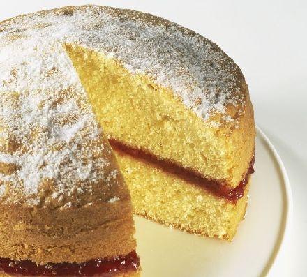 Victorian Chocolate Sponge Cake Pinterest