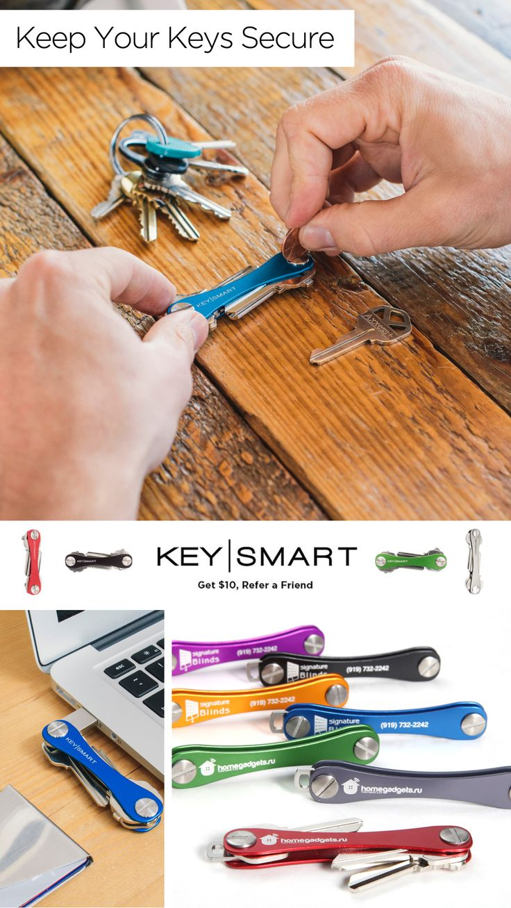 Key smart is a stylish alternative to the key ring. Designed like a pocket knife,  It fits a USB drive, bottle opener, and it basically turns your set of keys into a multi-tool. They come in a variety of colors and sizes, and are handmade in Chicago, Illinois. Be a key-master with the Key Smart.  Use discount code HOLIDAY5 by December 1, 2015 for $5 off orders over $25.