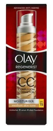 ¡Chollo! Crema OLAY Regenerist CC Complexion Corrector Medium skin tone 50ml por 16.76 euros.