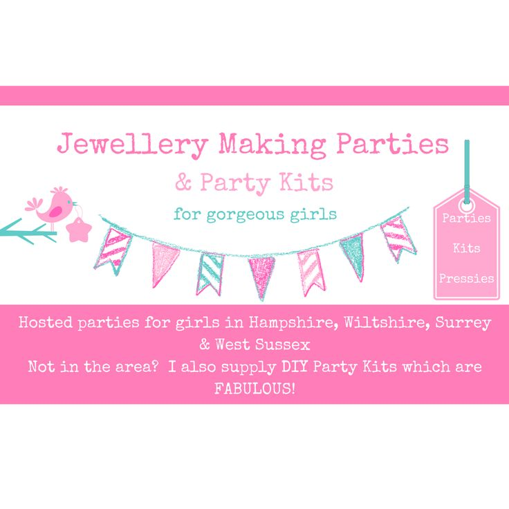 22 best diy jewellery making party kits for girls images on creative jewellery making parties for girls birthday party ideas for girls stopboris Image collections