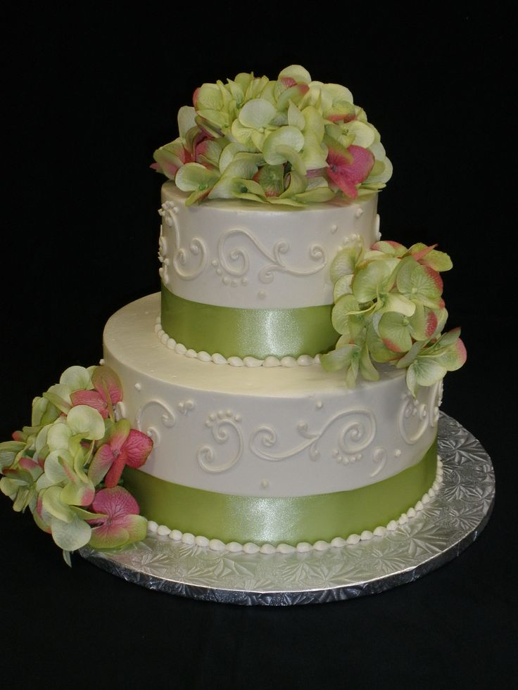 Cakes Hydrangea Wedding Cakes And Wedding Cakes On Pinterest