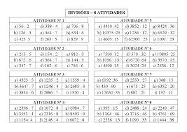 Resultado de imagem para atividades prontas 6 º ano matematica