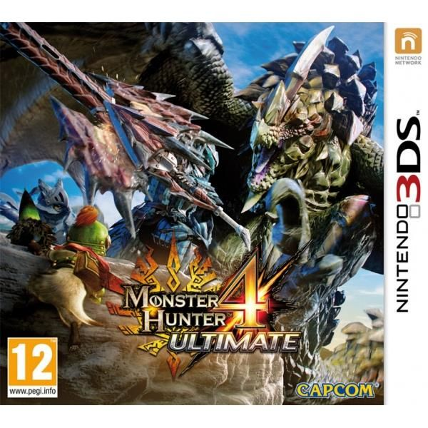 Monster Hunter 4 Ultimate 3DS Game | http://gamesactions.com shares #new #latest #videogames #games for #pc #psp #ps3 #wii #xbox #nintendo #3ds