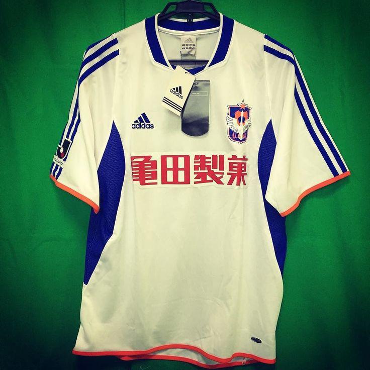 2003 Albirex Niigata Jersey Away  #Albirex #albirexniigata #soccerjersey #soccershirt #footballjersey #footballshirt #jleague #kamedaseika #adidas by japansoccerjersey