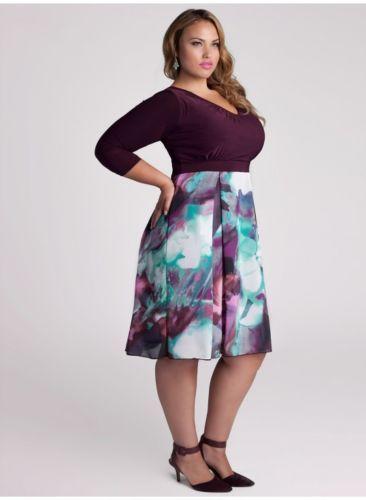 Here is a great Igigi Purple Dress Plus Size 18 20 Souvana Style ...