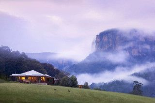 Emirates Wolgan Valley Resort and Spa, in the rugged Australian bush