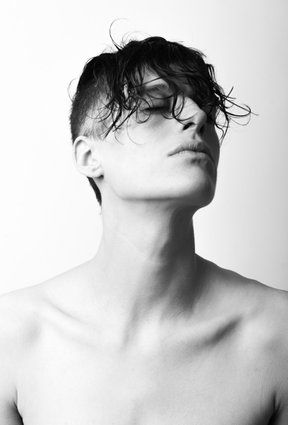 beautiful.. Rain Dove androgynous model