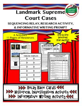 3 landmark supreme court cases research Street law, inc 1010 wayne avenue, suite 870 silver spring, maryland 20910, usa tel +1 301-589-1130 fax +1 301-589-1131 learnmore@streetlaworg.