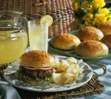 I found this recipe for Burger Buns , on Breadworld.com. You've got to check it out!