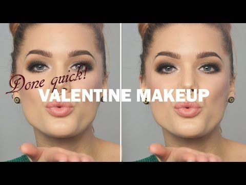 Done Quick – Valentine Makeup - Linda Hallberg makeup tutorials - YouTube