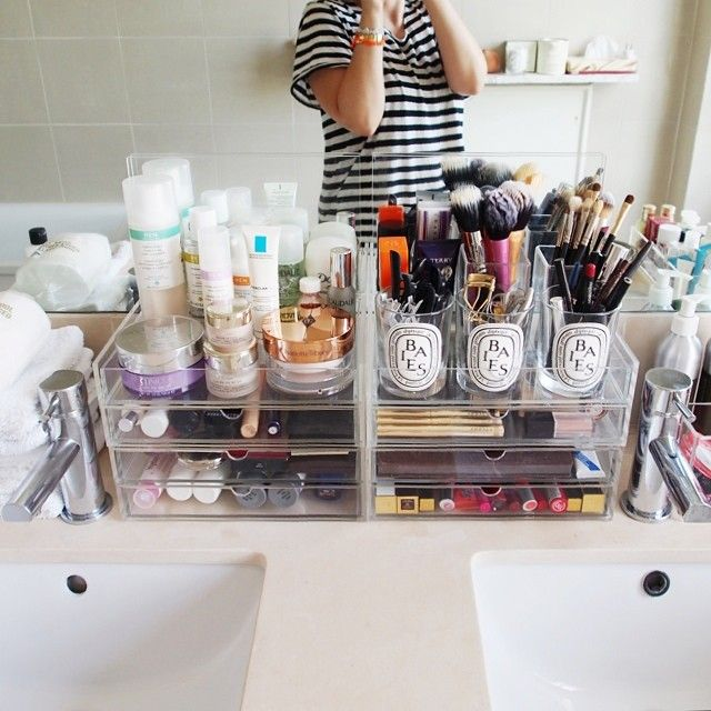 25 Best Ideas About Bathroom Makeup Storage On Pinterest