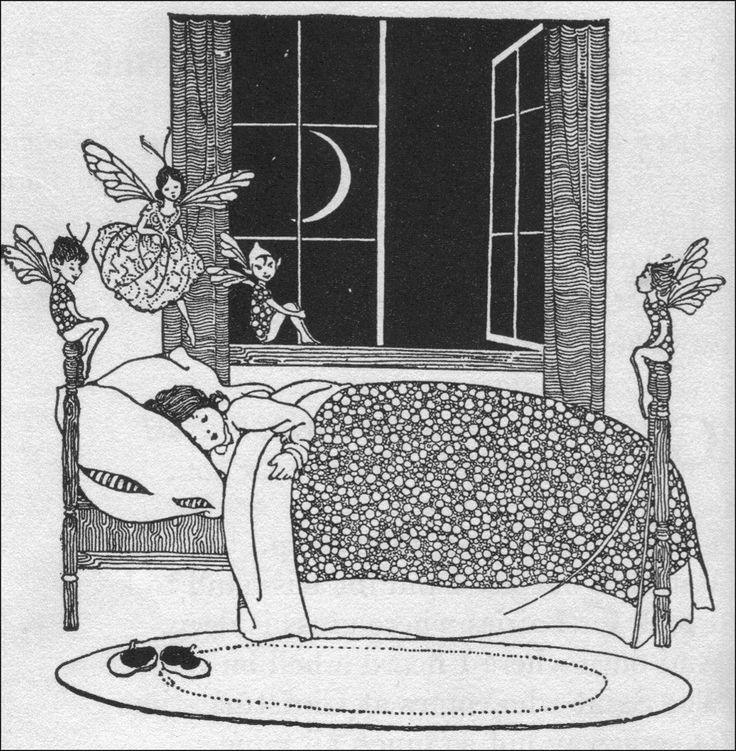 Art by Winifred Bromhall (1937).